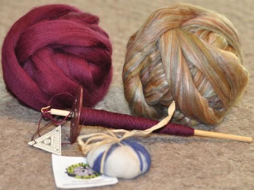 stuff I bought at the Kitchener-Waterloo Knitter's Fair on September 11, 2010